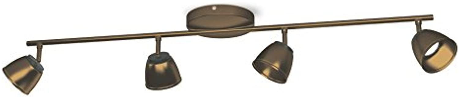 Philips myLiving LED Spot County 4-flammig, bronze