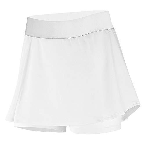 DYLH dames korte sportbroekrok met zakken Minirok A-lijn voor tennis golven lopen