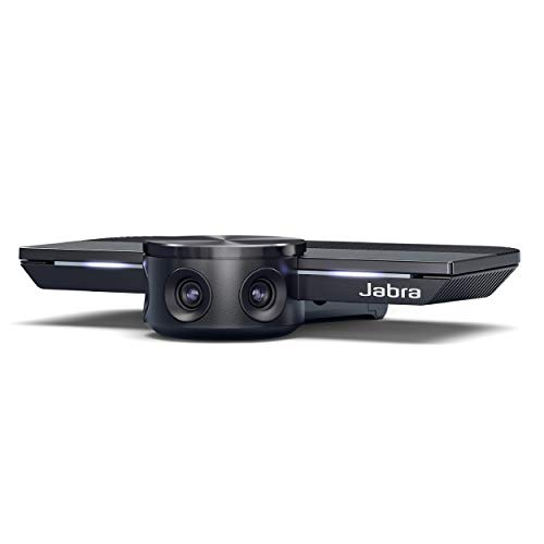 Jabra PanaCast – Intelligent 180° Panoramic-4K Huddle Room Video Camera – Inclusive Video Conferencing Camera with Full Room Coverage, Easy to Set Up Wide Angle Webcam for Business & Distance Learning