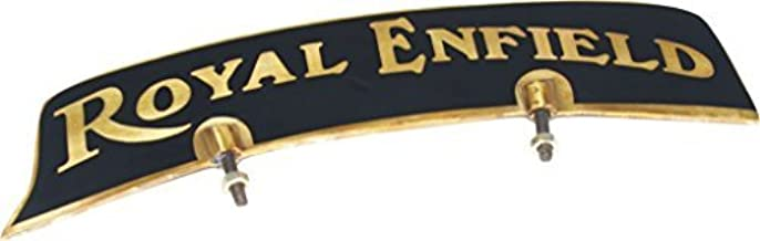 Royal Vintage spare Vintage Front Mudguard Brass Number Plate For Royal Enfield Bikes