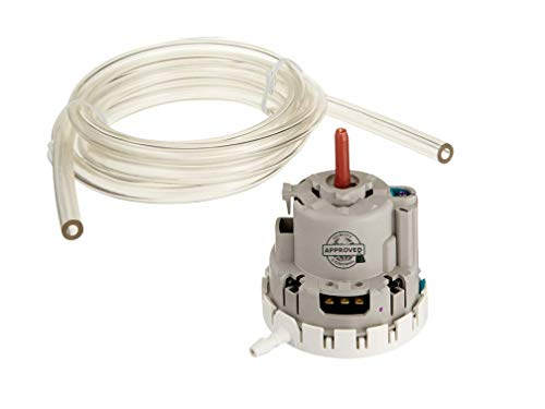 """GlobPro W10820051 Washer Water Level Pressure Switch 3"""" large Approx. Replacement for and compatible with Whirlpool Kenmore KitchenAid W10820051 Heavy DUTY"""
