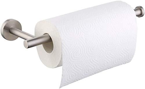 Umi. por Amazon Portarrollos Cocina Pared Dispensador de rollos de papel de cocina perchas para papel de seda para el hogar cocina baño Montaje en Pared, A2175S30-2