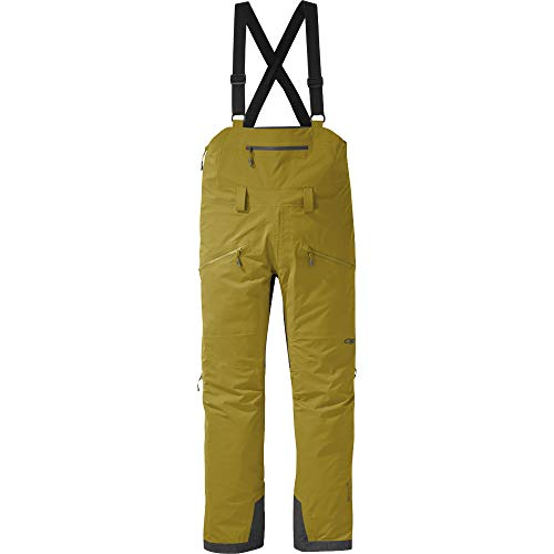 Pantaloni con bretelle per emisferi di ricerca all'aperto, Outdoor Research, Lichen, S