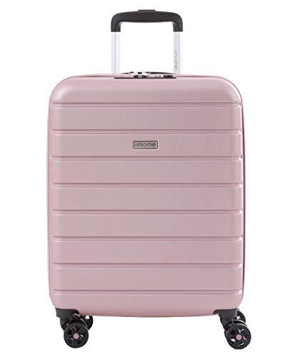 imome Top Maleta de Cabina Rosa Cierre TSA 55x40x20/23 cm Expandible | Equipaje de Mano, Trolley de...