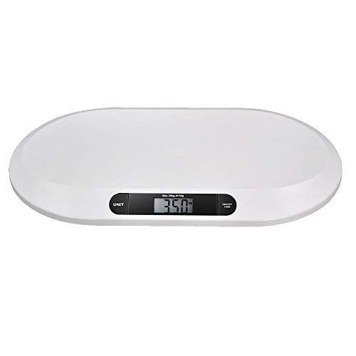 Baby Scale - Babywaage 20kg / 10g Digitale Waage Gewichtwaage mit LCD-Bildschirm