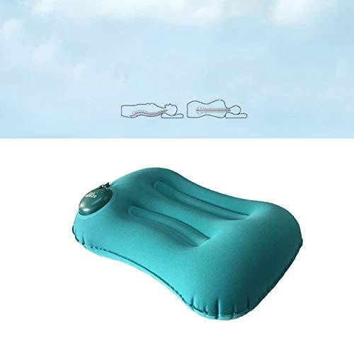 Apillow03 Aufblasbares Nackenkissen für Kopf, Rücken, Schulterschmerzen, Gesundheitspflege, Massagegerät, Nackenschmerzen lindert Zubehör - Color1