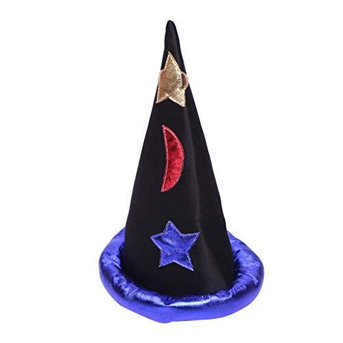 LQH Asistente de la Cinta de Adultos Niños Niños Sombreros de la Bruja de la Mascarada del Sombrero Cosplay Inicio