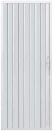 Box doccia a soffietto Liberte' dim. 80 cm x H 185 cm in PVC anta unica, con apertura laterale