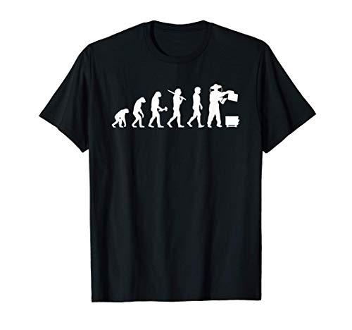 Bienenzüchter Evolution Imker T-Shirt