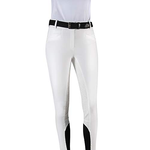 Equiline Damen Reithose FG GIADA Größe 38, Farbe weiß