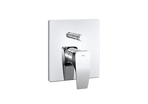 Roca Thesis - grifo monomando empotrable de 1/2' para baño y ducha con inversor automático. a completar con r . Griferías hidrosanitarias Monomando. Ref A5A0B50C00
