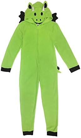 Under Disguise Kids Big Kids Microfleece Costume Union Suit Onesie Dragon 10 12 Yr product image