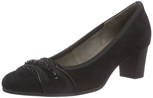Gabor Shoes Damen Basic Pumps, Schwarz (schwarz 17), 38.5 EU