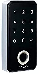 LAVNA Fingerprint and Password Digital Drawer/Cabinet Lock -Not for Door (Standard Size, Multicolour),LAVNA