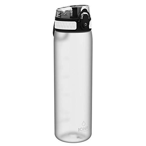 Ion8 Auslaufsichere Schlanke Trinkflasche, BPA-frei, Eis