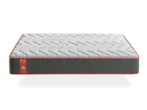 Khama Basic | Colchón de muelles ensacados con viscoelástica | Firmeza Alta 8/10, 150x200