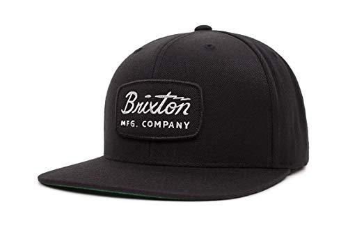 BRIXTON Headwear JOLT Snapback, Schwarz/Weiß, One Size, 00491