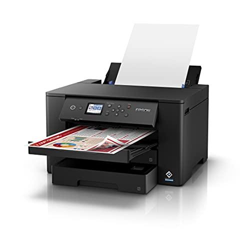 Epson Workforce WF-7310DTW, Impresora A3 WiFi con Impresión Doble Cara Automática (Dúplex), Negro