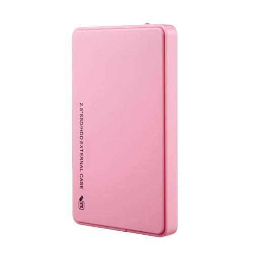 hard disk esterno rosa SKAIY Dischi rigidi Esterni Portatili in Alluminio da 2