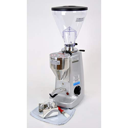 Lowest Price! Mazzer Super Jolly Electronic Espresso Grinder Doserless Silver New Burrs!