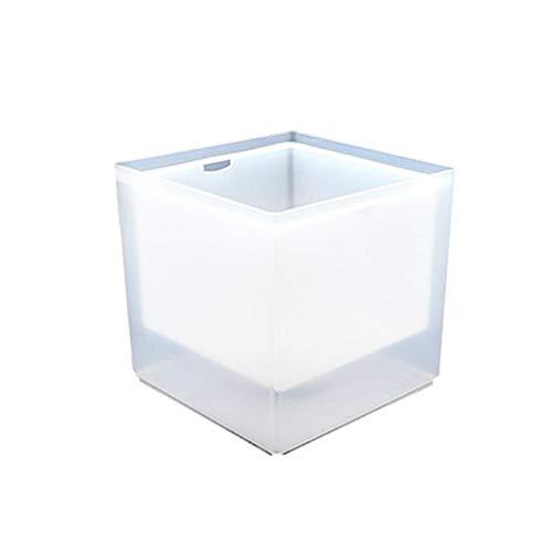 Cubitera LED para cubitos de hielo con luz LED, cambio de color, para champán, vino, bebidas, bebidas, bebidas, zumo, bar, clubes