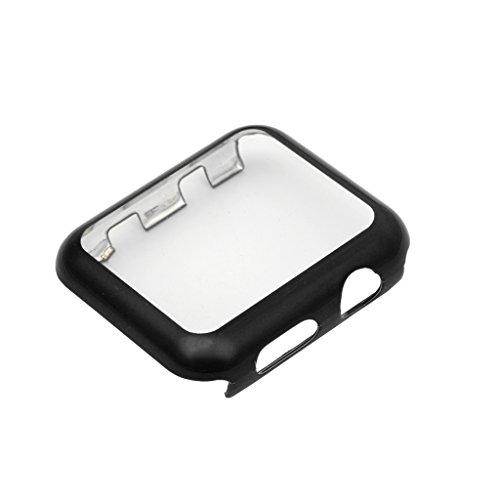 Custodia protettiva per PC a schermo intero ultra sottile per Apple Watch Series 1 2 38 / 42mmNero (confezione originale)