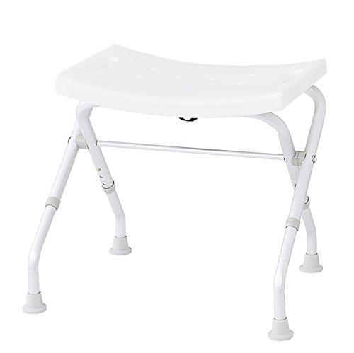 Ridder A0050301 - Taburete Plegable para el baño, Color Blanco