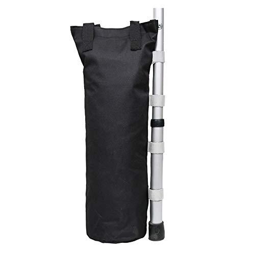 Timagebreze 4Pcs Gazebo Support Frame Fixed SandBag 600D Gazebo Leg Weight for Outdoor -Up Canopy/Sun Shades Umbrella