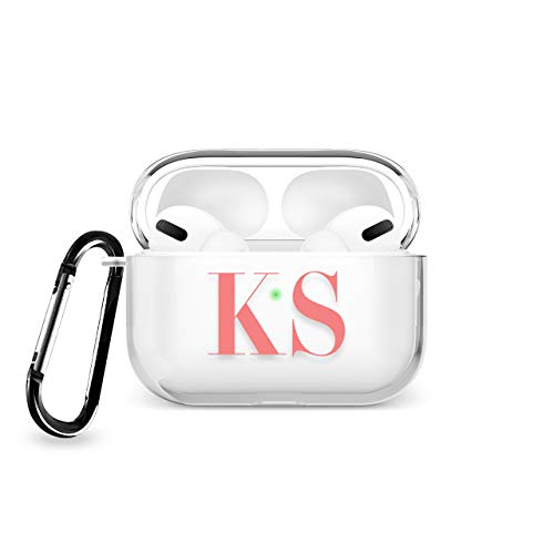 Tirita Personalised Clear Case/Cover compatible with Apple AirPods Pro...