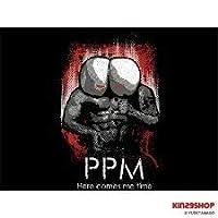 プリプリマン Tシャツ ブラック LLサイズ 「キン肉マン」MARS16 KIN29SHOP XL