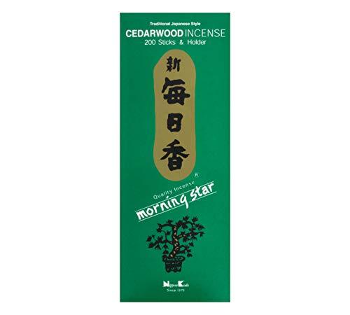 Nippon Kodo Morning Star cedro incenso 200bastoncini
