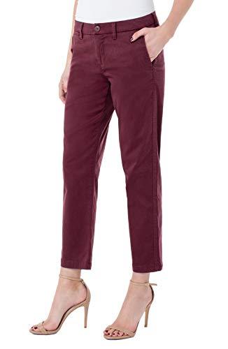 Liverpool Bobbie - Pantalones con Bolsillos para Mujer, Chocolate Chip, 10 27