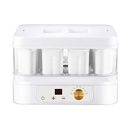 Dörrautomaten-YUAN Justierbarer digitaler Joghurt-Hersteller-Nahrungsmittelentwässerungsgerät-Fruchttrockner, Imbiss-Stoß, 35 ℃ ~ 70 ℃, Temperatur- und Zeitsteuerung