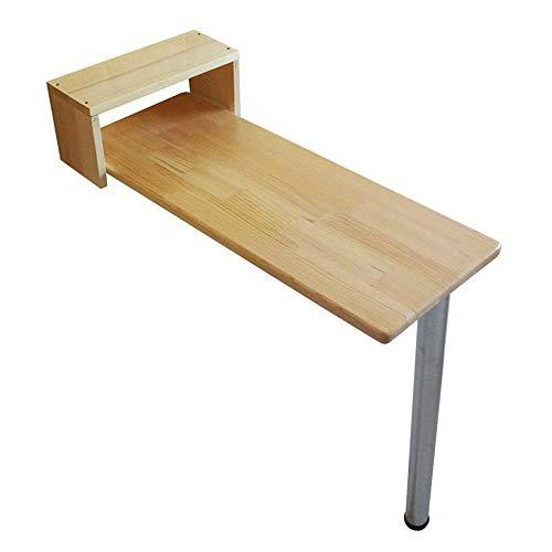 Mesa de centro para muebles, mesa de madera de hoja abatible montada en la pared Mesa de comedor y cocina plegable Escritorio Mesa para niños Color de madera,9 (Tamaño: 80 * 60 CM) (Tamaño: 80