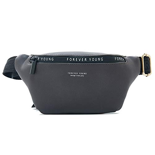 Women's Waist Bag Multifunctional Waist Bag Women's Waist Bag Banana Women's Waist Bag Fashion - Dk Gray