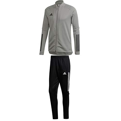 adidas Kinder Trainingsanzug Condivo 20 Team Mid Grey 164