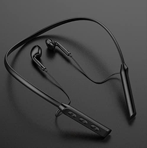 Auriculares colgantes cuello Bluetooth deportes inalámbricos en el oído Running Game GB / 03 (negro)