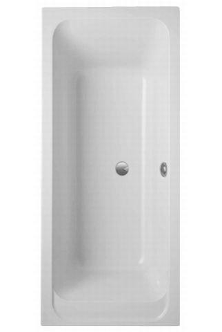 Villeroy & Boch Acryl rechthoekige badkuip Architectura Solo, UBA170ARA2V 1700x750mm, Kleur: Sterrenwit - UBA170ARA2V-96