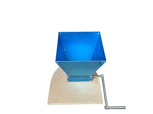 2 Rollers malt mill grain mill home brew mill with hopper & crank handle & a base with highest quality and wholesale and retail