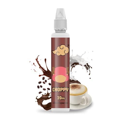 NINDO   Aroma Cremoso Scomposto 20ml CHOPPY   Gustoso cappuccino con spolverata di cacao!   100% Made in Italy   Flacone da 50ml con Sistema Salva Goccia   Aroma Concentrato da Diluire