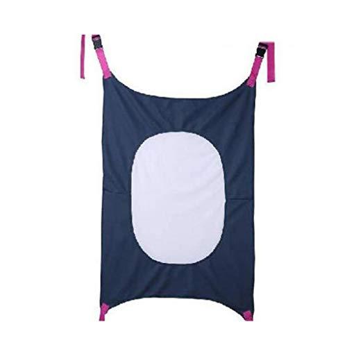 Bambino Hammock Culla Womb Infant sicurezza Letto con respirabile comodo Net portatile staccabile elastico Uteri culla amache Letto 1 pezzi accessori blu Amaca