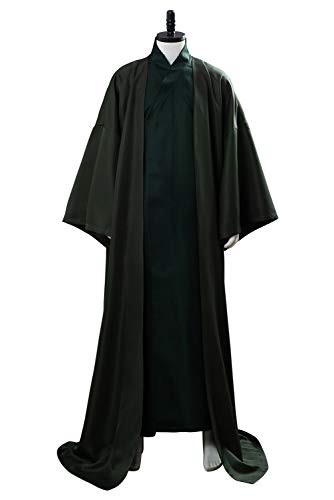 RedJade Potter Lord Voldemort Outfit Traje de Cosplay Disfraz Verde Hombres XXXL