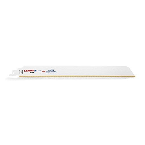 Lenox Tools 21062956/GR 229/mm 6/TPI Gold Power Arc S/äbels/ägeblatt f/ür Holz und N/ägel enth/ält Schneiden 5/St/ück