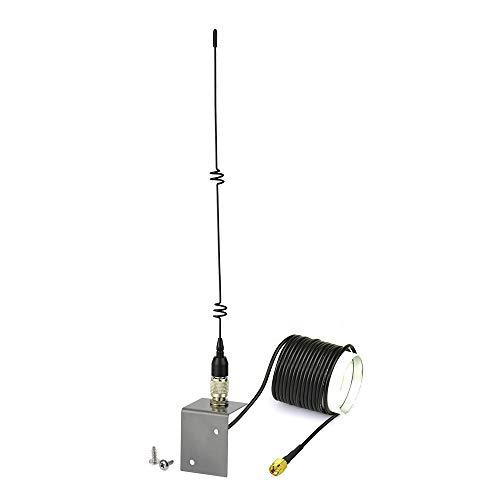 Eightwood 4G Antenne WLAN Antenne SMA Adapter Magnetische 5dbi Omnidirektionale RG174 3M Verlängerungs Kabel für 2G 3G 4G Router LTE GSM WLAN Bluetooth HSDPA WiFi Drahtlose MEHRWEG