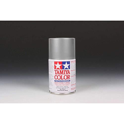 Tamiya - Spray de polycarbonate argenté.