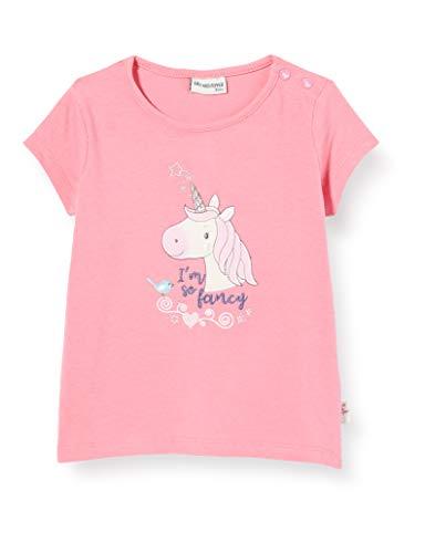 Salt & Pepper Baby-Mädchen 03212210 T-Shirt, Rosa (Strawberry Ice 830), (Herstellergröße: 80)