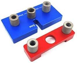 WYBW 3 in 1 Hole Drilling Locator Tool Kit Boor Gids Dowelling Jig Houtbewerking Tool voor Meubels Snel Aansluiten Gereeds...