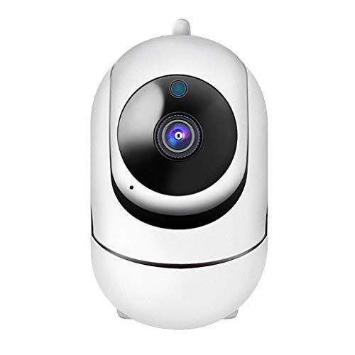 IPOTCH Cámara Domo IP Full HD 1080P Vigilancia de Seguridad WiFi para Interiores con Detección de Movimiento, Audio Bidireccional, 8G