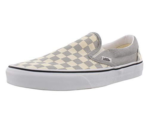 Vans Mens Classic Slip-On Silvertrwht Vn0A4U38Ws3 - Size 8