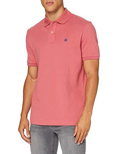 Springfield Herren 5ba Polo Basico Reg T7 Vi-c/71 Poloshirt, Pink (Pink 71), X-Large